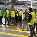 Visite Luxair Cargo Center P1000127