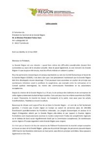 thumbnail of CESGR_Courrier au Président du Sommet GR_ 13.05.2020 vf
