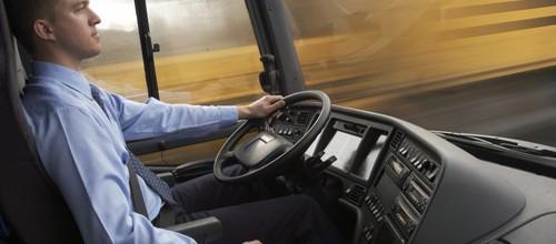 Busfahrer-Azubi
