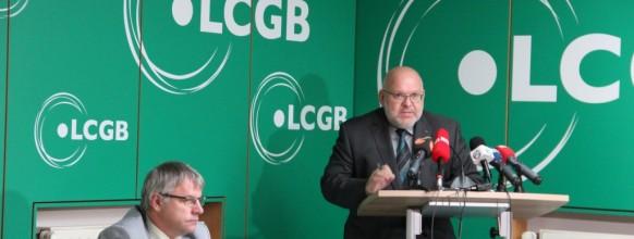Conference de presse Cogestion