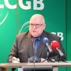 Conférence de Presse Tripartite Februar 2016