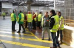 Visite Luxair Cargo Center P1000127
